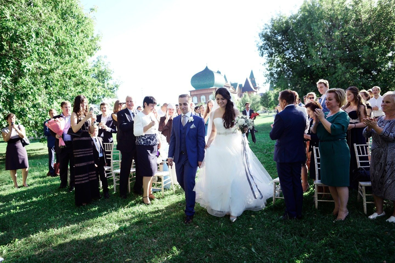Россыпь звезд: свадьба Ирины и Евгения