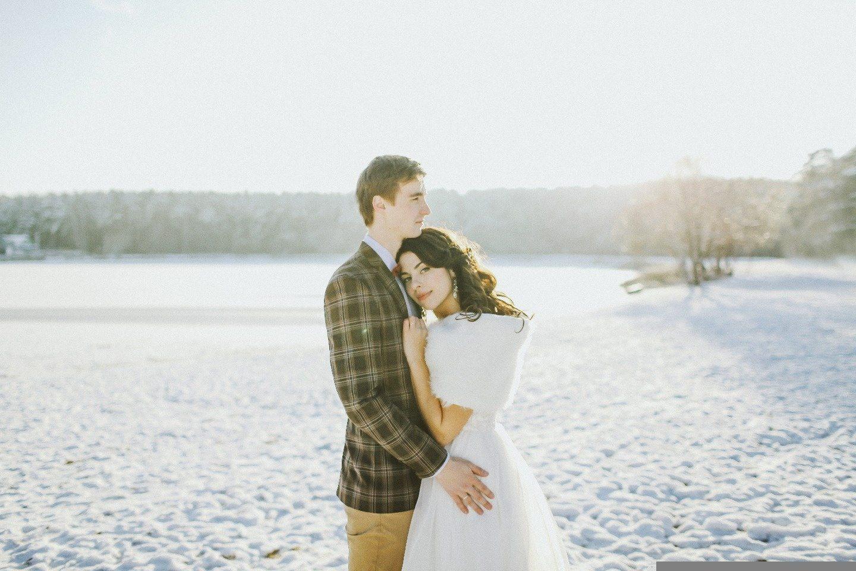 Мороз и солнце: свадебная love-story Марии и Максима