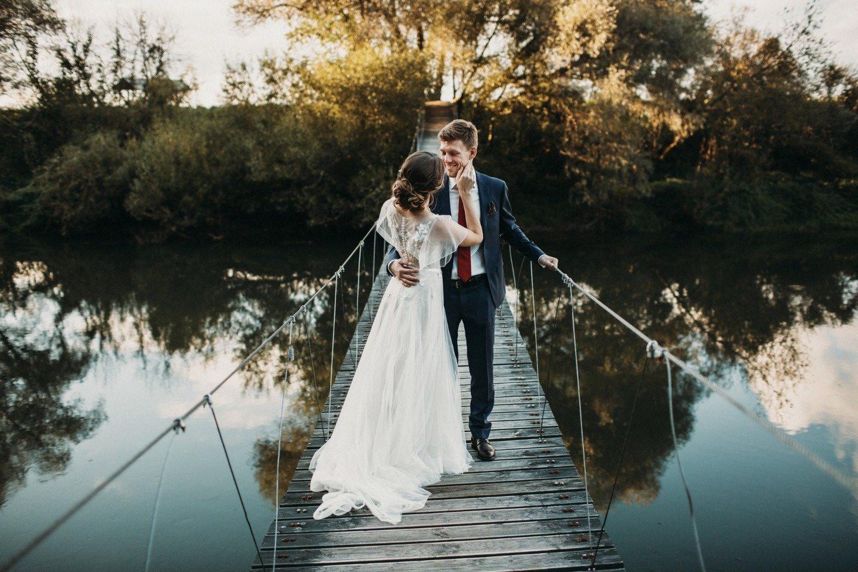 Лесная быль: свадьба Насти и Стаса