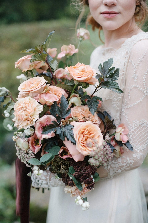 Вдохновение вне времени: стилизованная съемка невесты