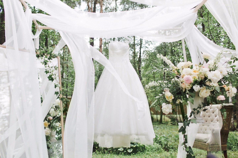 Современная элегантность: свадьба Симона и Елены