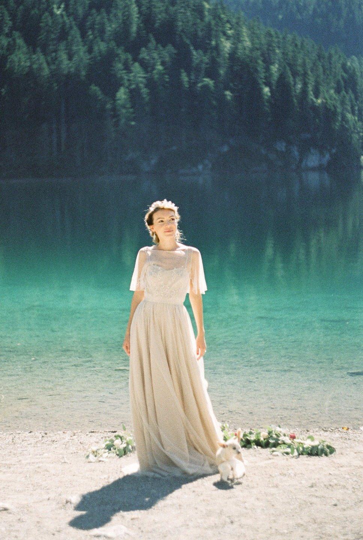 Свадьба на озере: фотосессия Кэти и Мауро