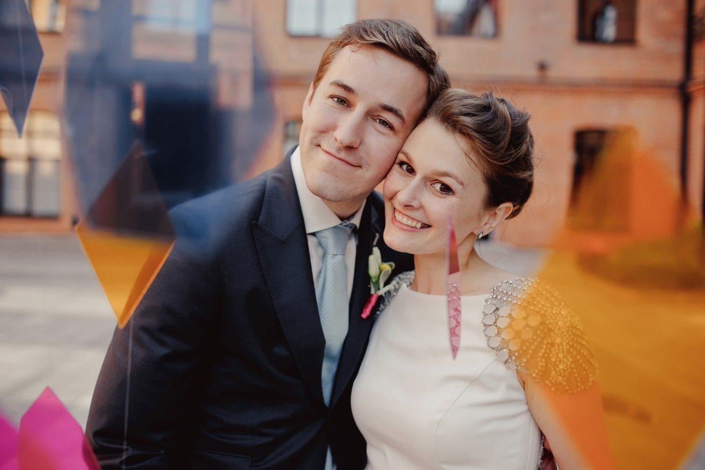 Вечеринка в стиле лофт: свадьба Дениса и Ани