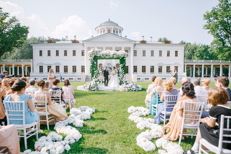 Изысканность классики: свадьба Дмитрия и Натальи