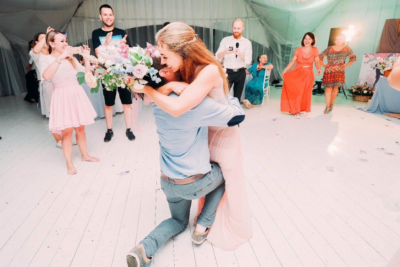 Happiness begins here: свадьба Гали и Миши