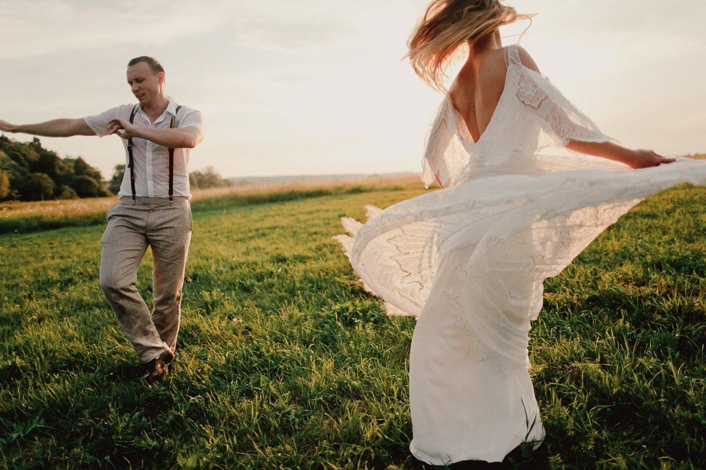 Деревенский шик: свадьба Кирилла и Даши