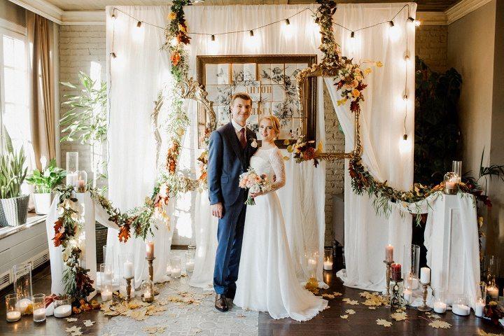 Золотая осень свадьба