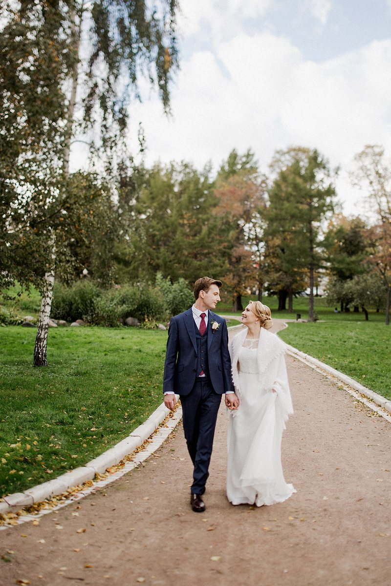 Золотая осень: свадьба Ольги и Антона