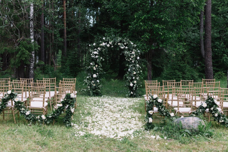Золотая классика: свадьба Ольги и Олега