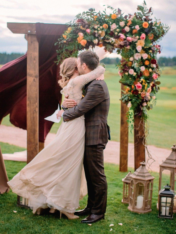 Душевность и уют: свадьба Павла и Юлии