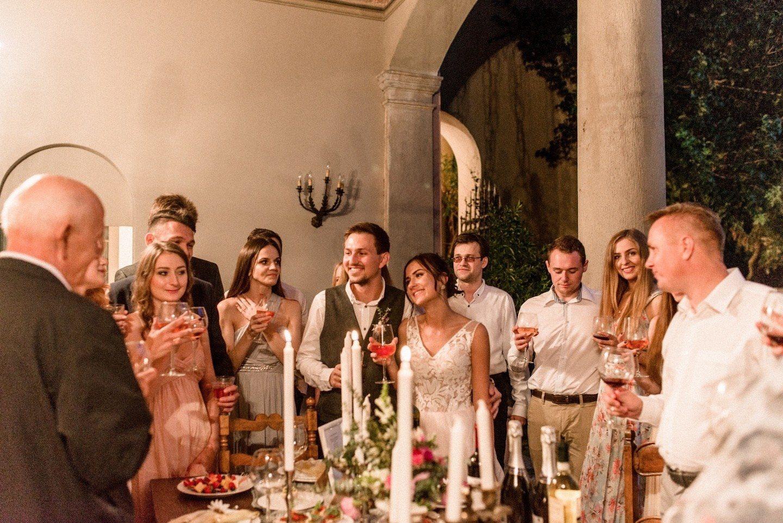 Тайминг свадебного вечера: основные этапы