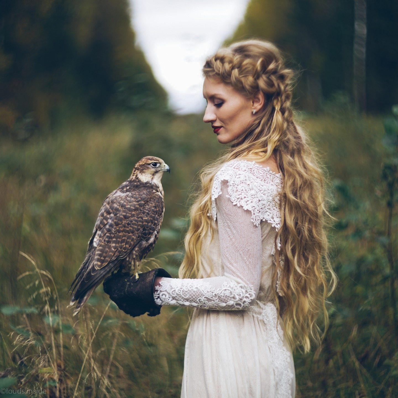 The Falconry: стилизованная фотосессия