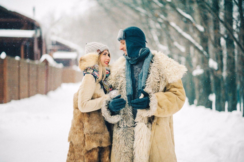 Зима в деревне: love-story Вео и Кати