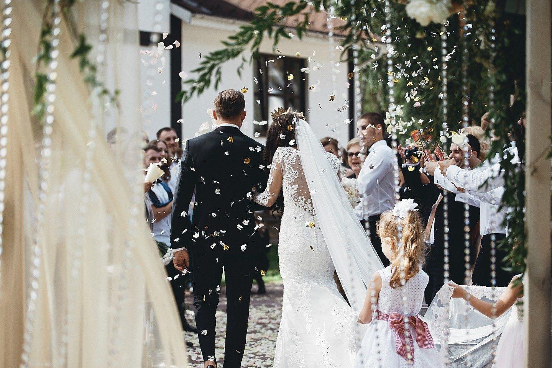 В золотом мерцании: свадьба Андрея и Ирины