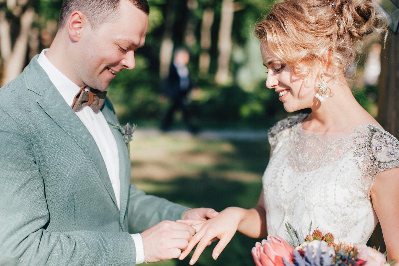 Романтичный бохо: свадьба Ани и Саши