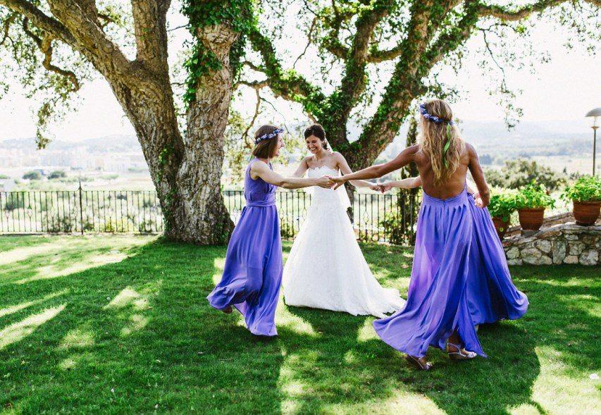 Как общаться с подружками невесты во время подготовки?
