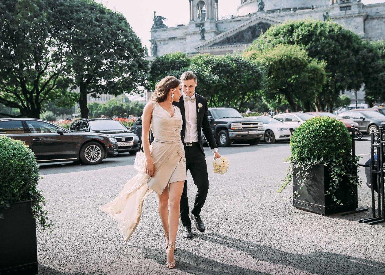 В ритме города: свадьба Александра и Юлии
