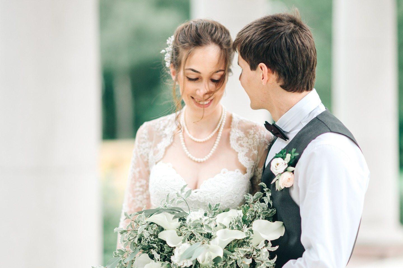 Воздушная легкость: свадьба Ильи и Марии