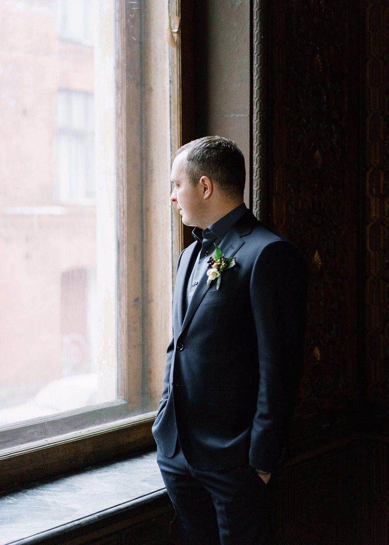 Тепло и уют зимы: свадьба Владимира и Кристины