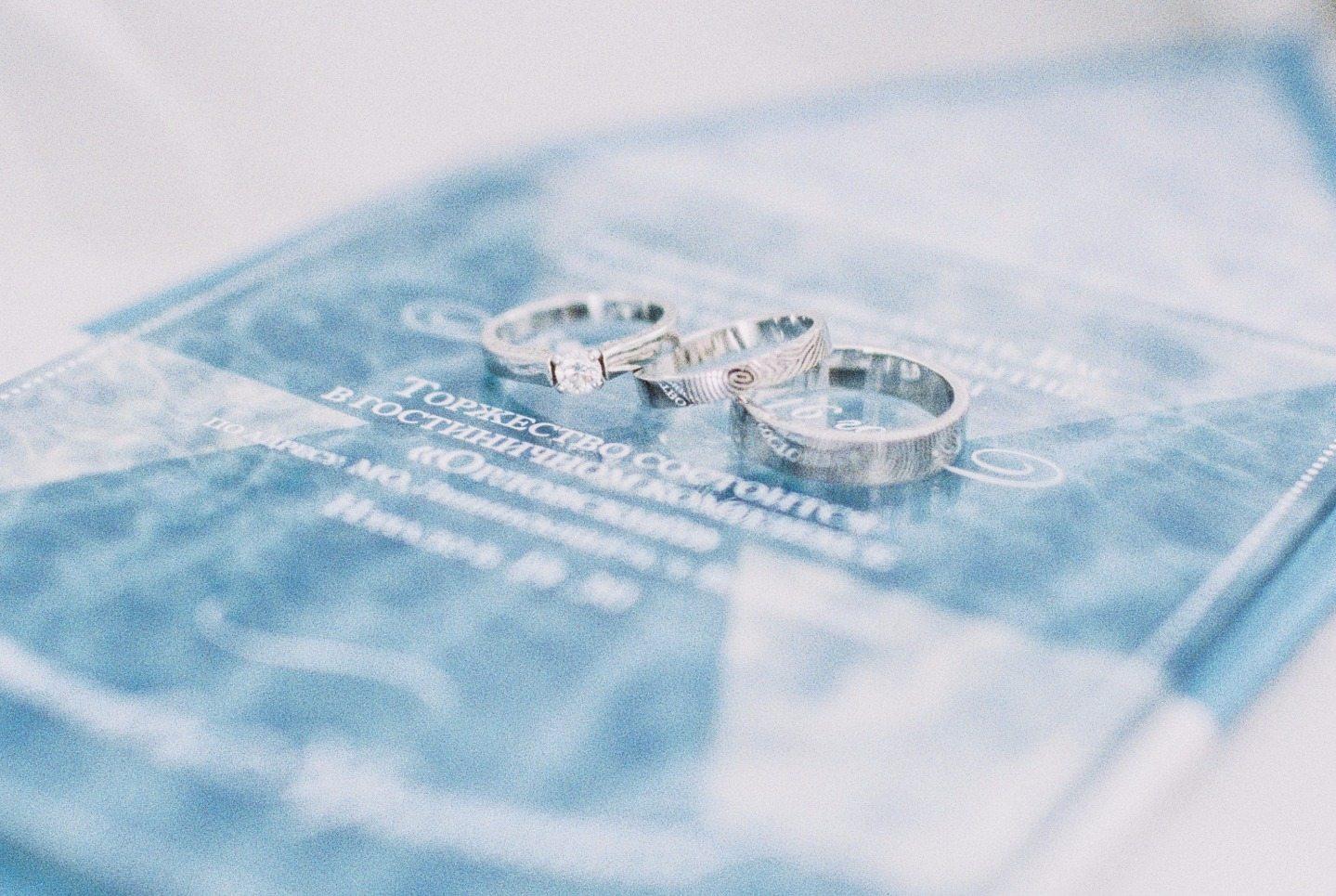 Сказка в голубых тонах: свадьба Владислава и Кристины