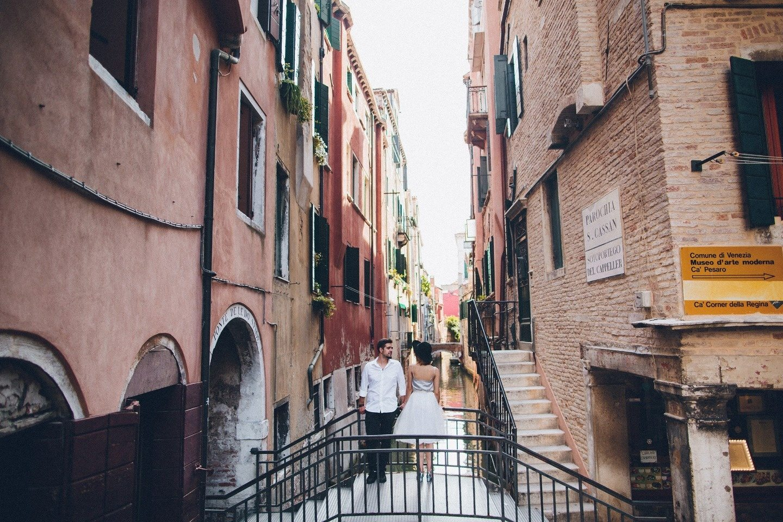Один день в Венеции: love-story Жоры и Жени