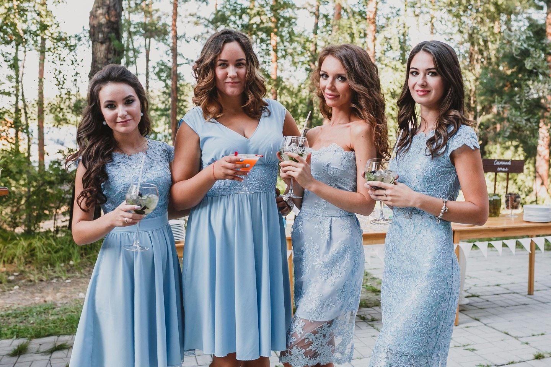 Летняя вечеринка на природе: свадьба Анатолия и Александры