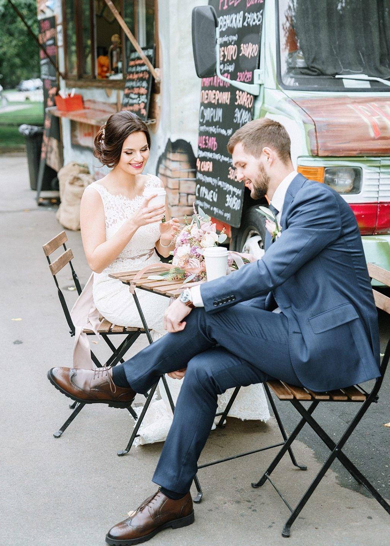 Уютный лофт: свадьба Дмитрия и Карины