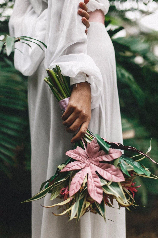 Tropical Wedding: стилизованная фотосессия