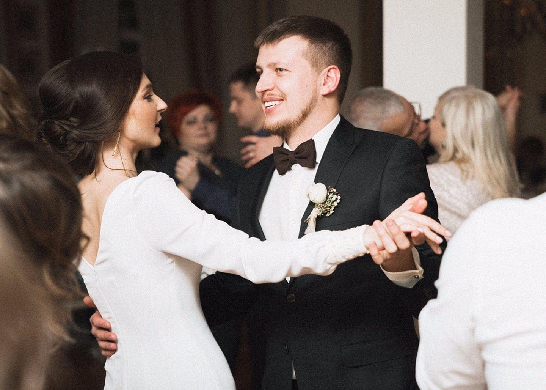 Зимний Петербург: свадьба Елены и Дмитрия