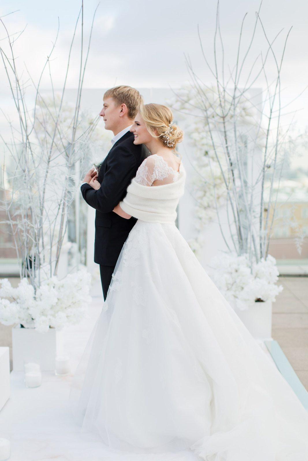 Под холодным московским небом: свадьба Николая и Светланы