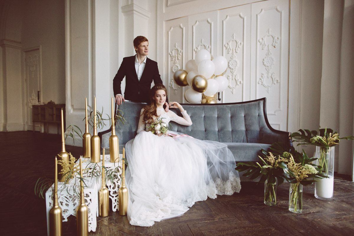 Вдохновение рококо: стилизованная фотосессия Стаса и Марии