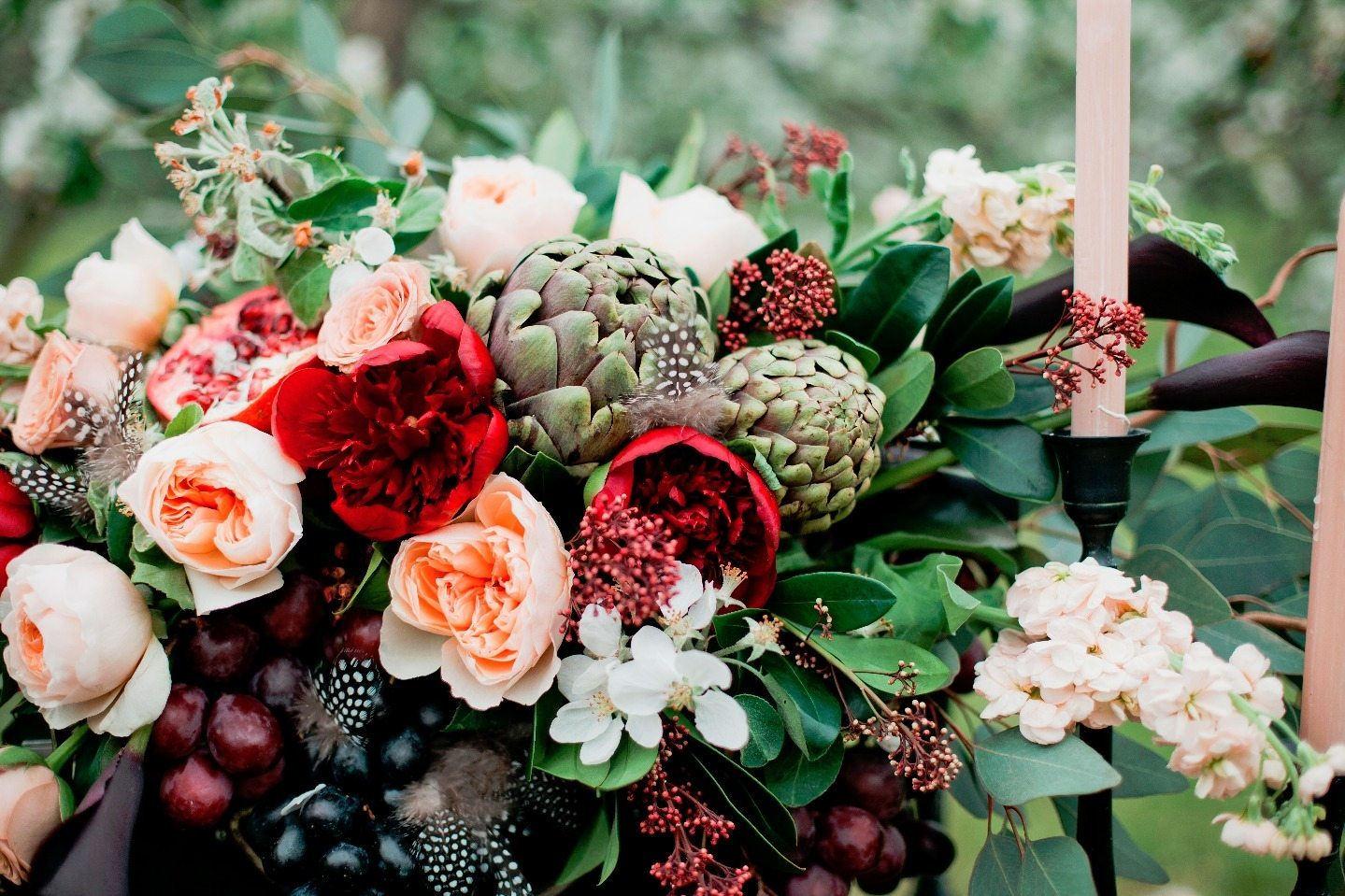 В саду фантазий: стилизованная фотосессия
