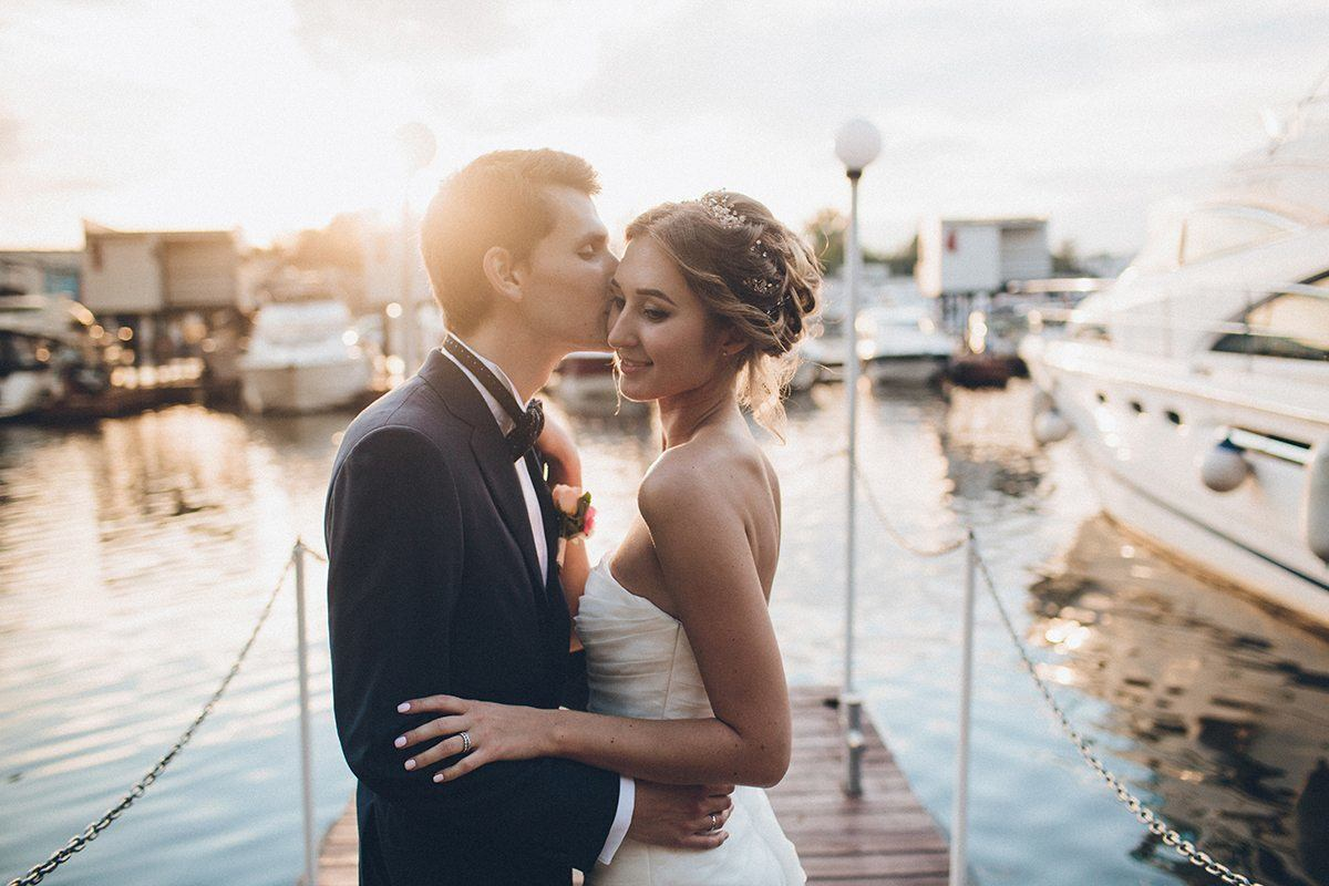 Летний дождь: свадьба Александры и Евгения