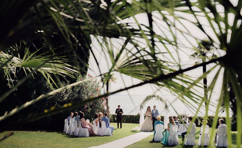 Романтичная классика: свадьба Никиты и Анны в Италии