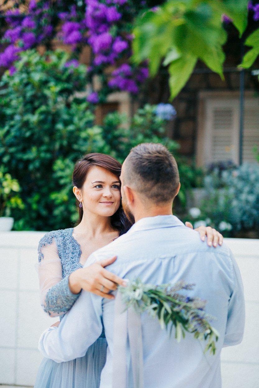 Свадебная love-story в пейзажах Хорватии