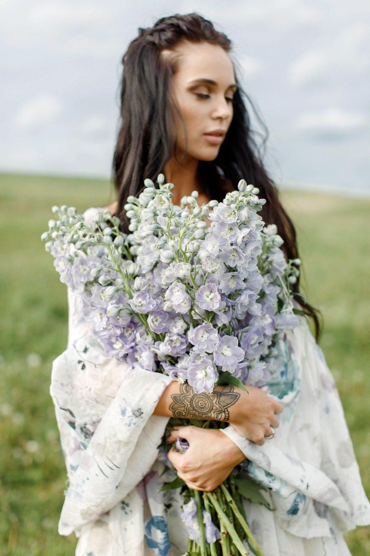 Дети цветов: фотосессия в стиле хиппи