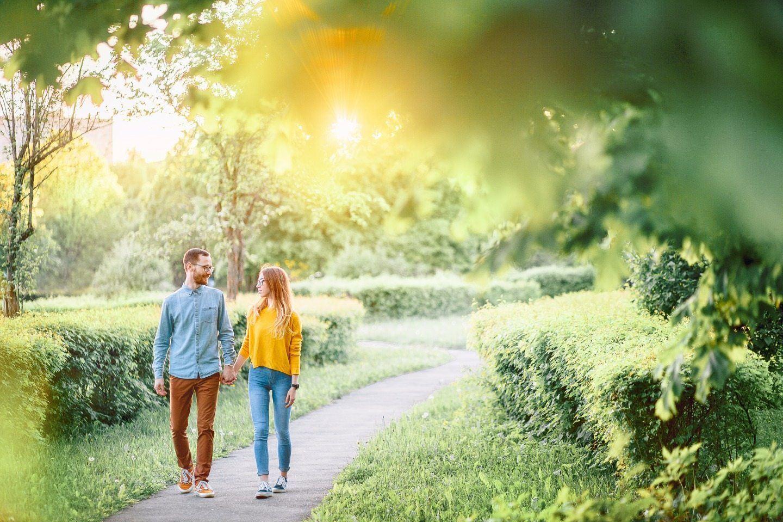 Солнечная love-story в стиле casual