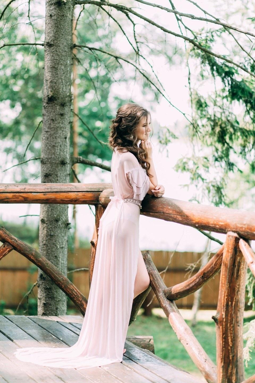 Рустик и ботаника на свадьбе в лесу