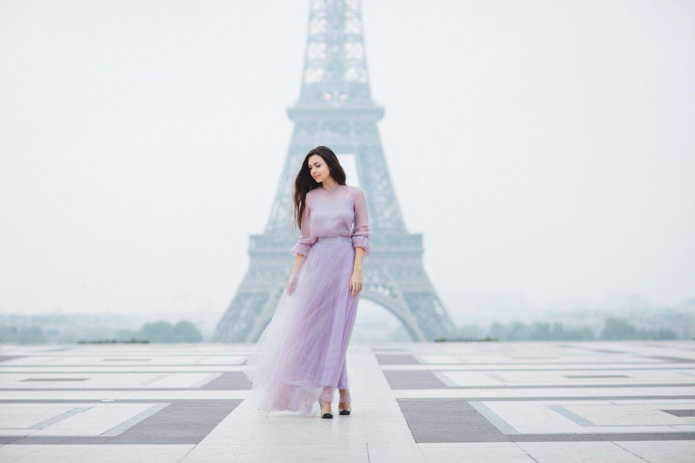 Тихое утро в Париже: стилизованная фотосессия