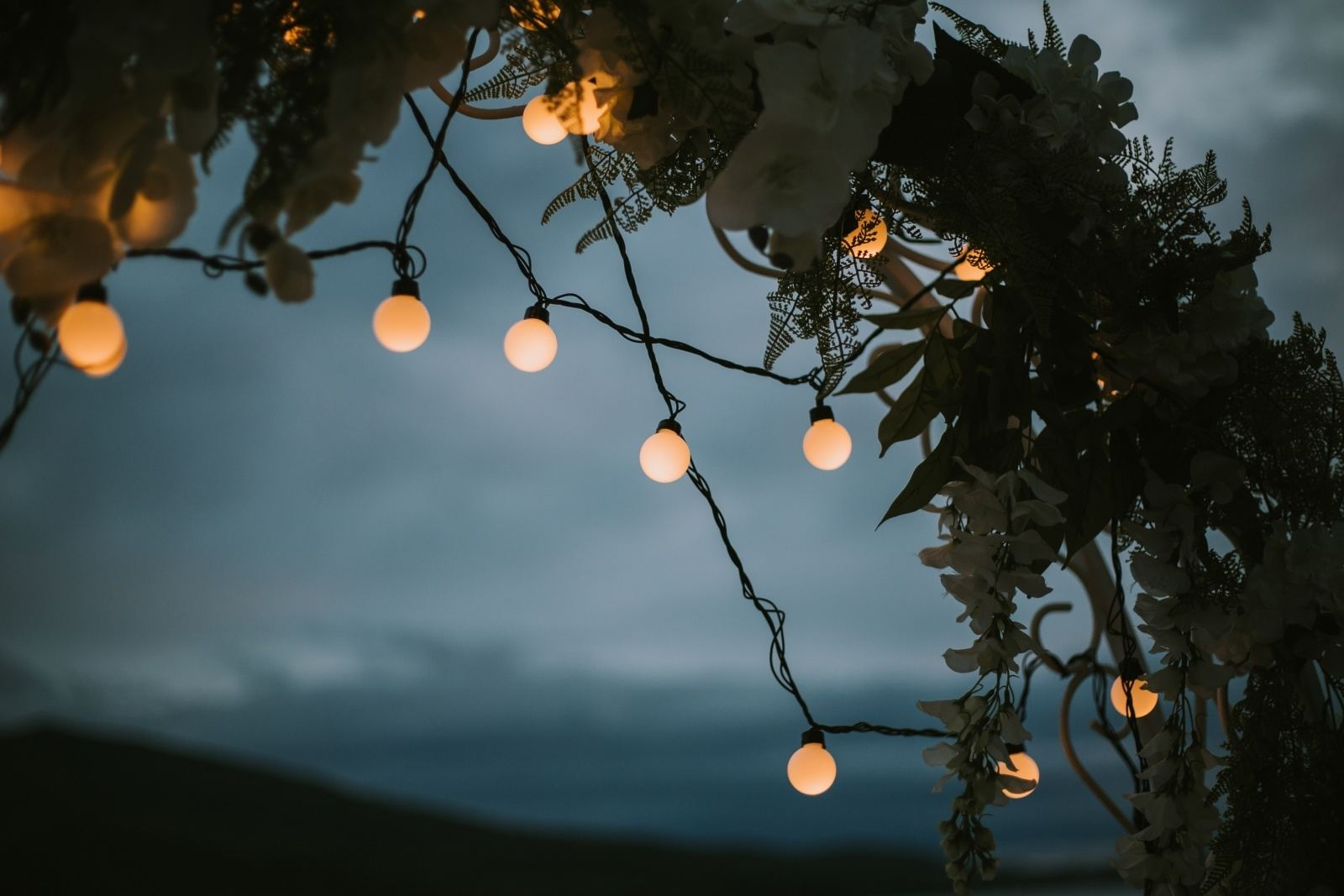 Волшебство ночи: свадьба с вечерней церемонией