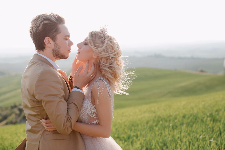 Природно-романтичная love-story на полях Тосканы