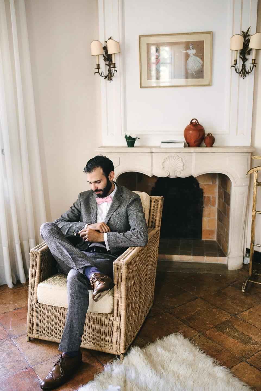 Очарование Франции: камерная свадьба на вилле