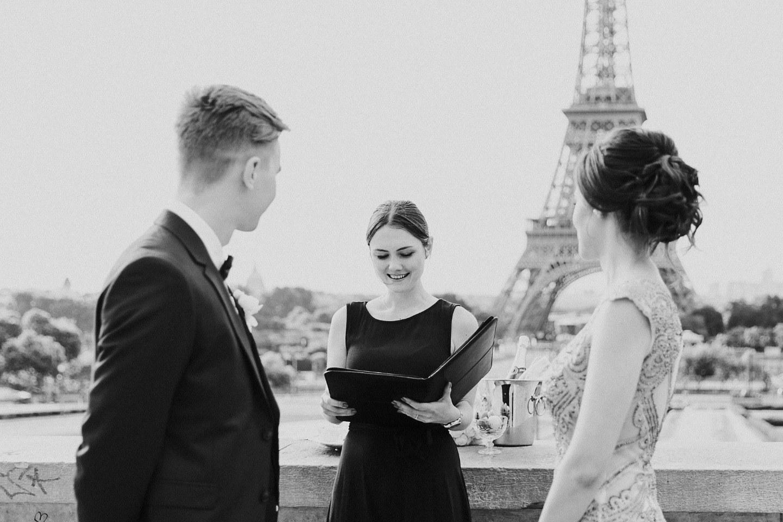 Романтика Парижа: свадьба для двоих