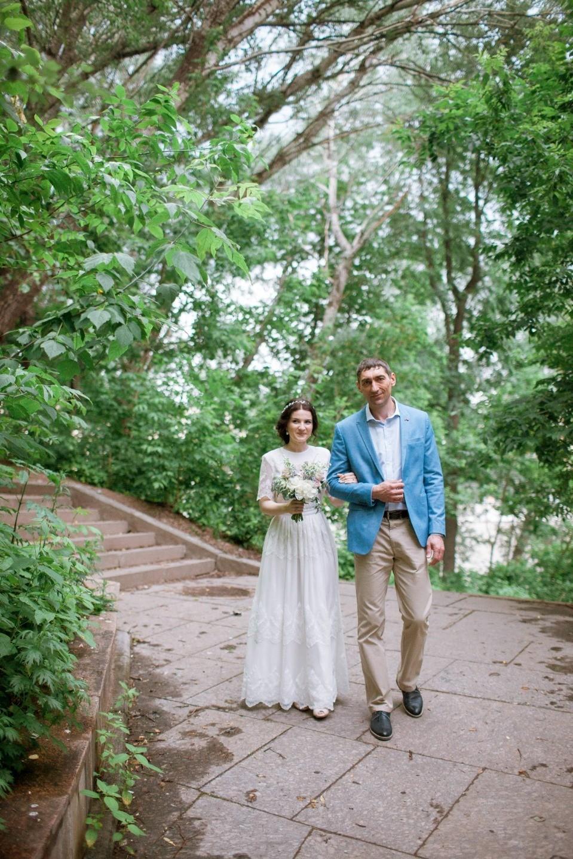 Океан любви: свадьба в голубой палитре