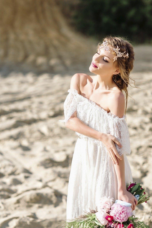 Sand And Flowers: стилизованная фотосессия