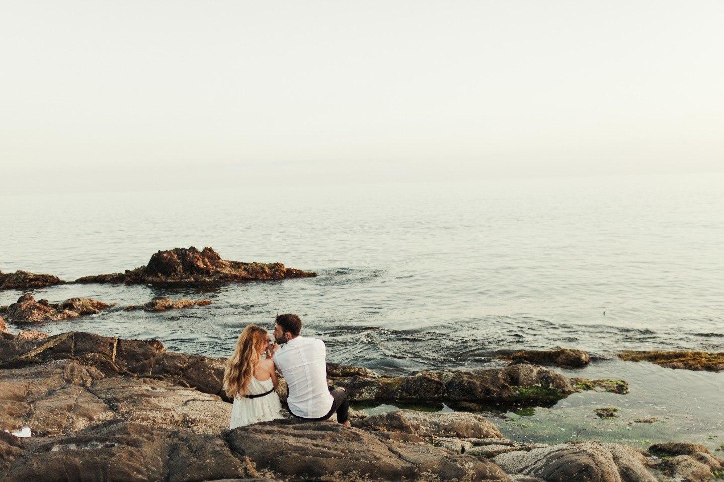 Закат на двоих: love-story на берегу моря