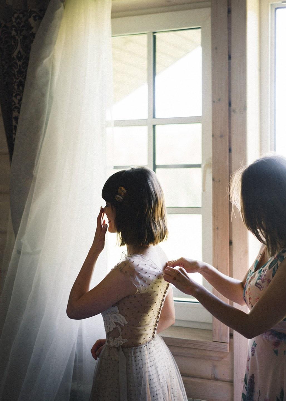 День ветра: свадьба в амбаре