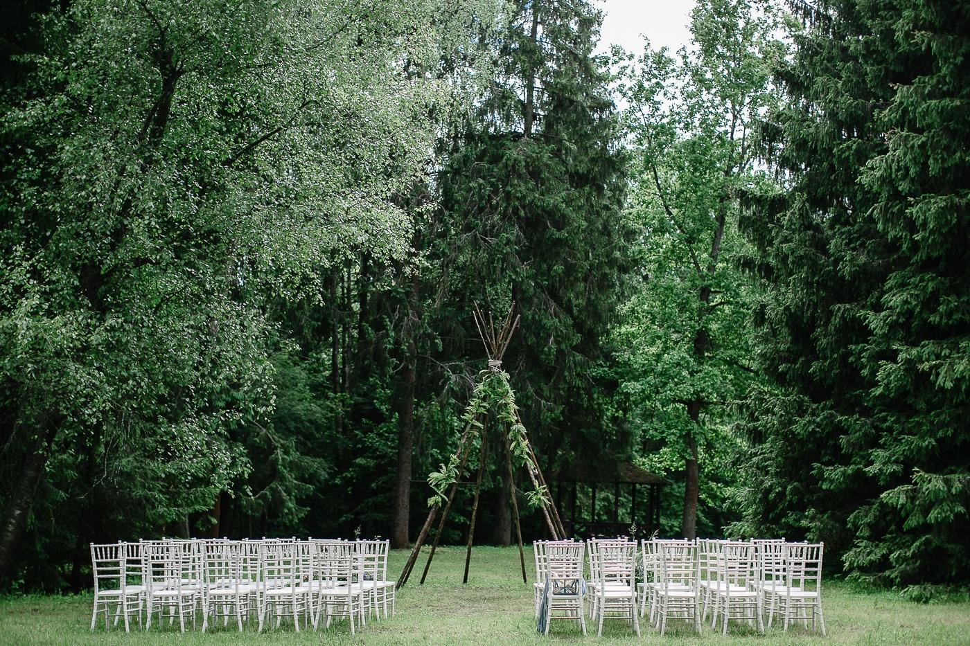 Tour de Wedding: эко-свадьба в лесу