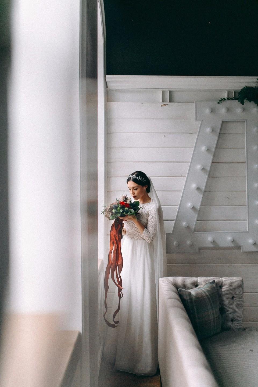 Осенний уют: свадьба в стиле лофт