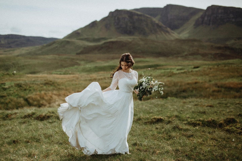 Шотландия для двоих: свадьба на острове Скай